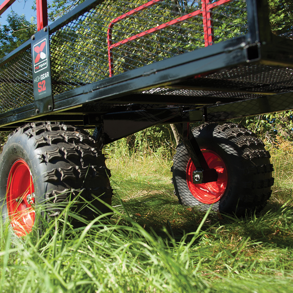 All Terrain Tires >> YUTRAX Loading Ramps and Utility Trailers - YUTRAX S2 High Gear Off-Road Utility Trailer